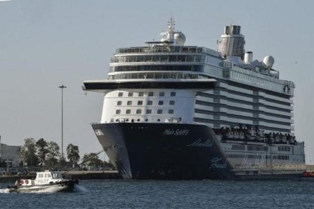 Cruiseschip aangemeerd in Athene: alle coronatesten zijn negatief