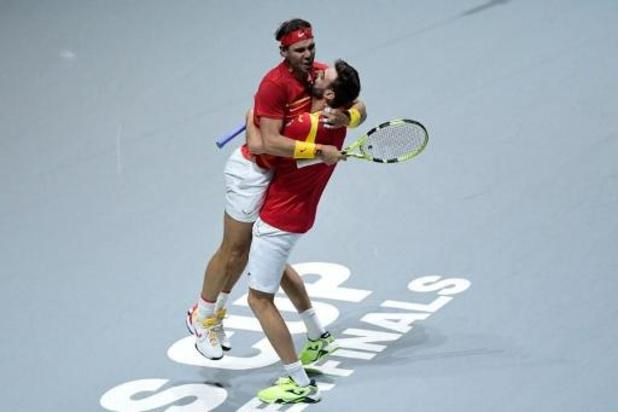 Coupe Davis - L'Espagne en demies aux dépens de l'Argentine grâce au double Nadal/Granollers