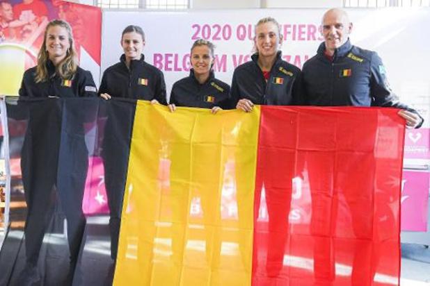 Fed Cup - La Belgique affronte le Kazakhstan pour une place en phase finale de la Fed Cup
