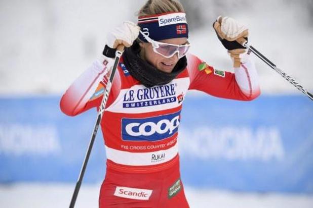 Therese Johaug battue pour la première fois sur le circuit du Tour de ski