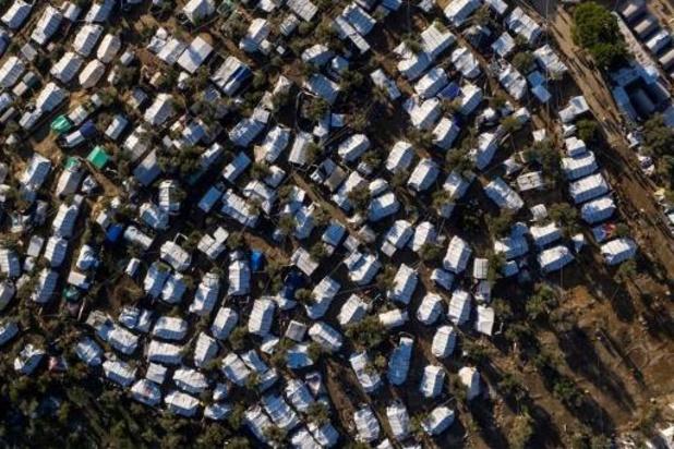 Afghaanse moeder van drie kinderen komt om bij brand in vluchtelingenkamp in Lesbos