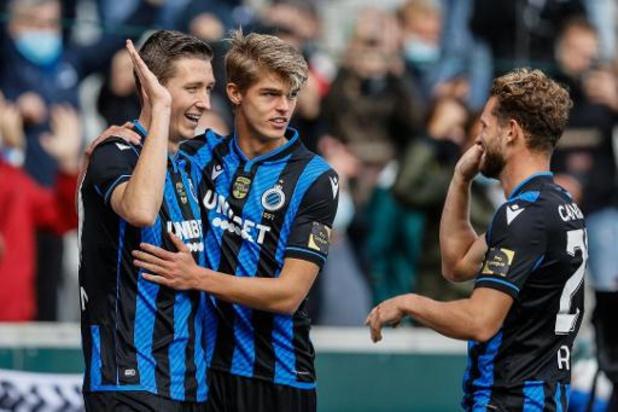 Club Brugge laat Anderlecht kansloos in topper met eenrichtingsverkeer
