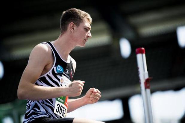Hoogspringer Thomas Carmoy wint na Belgisch ook Frans kampioenschap