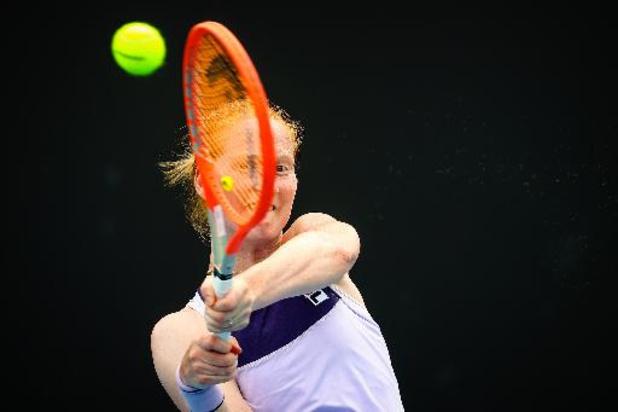Alison Van Uytvanck éliminée au premier tour des qualifications à Madrid