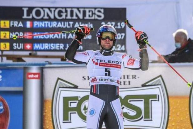Alexis Pinturault wint reuzenslalom Alta Badia