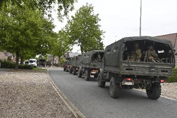 Affaire Jürgens Conings - L'armée et la police reprennent leur poste