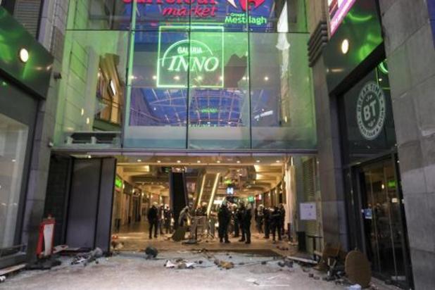 Violences dans le centre de Liège - Neuf personnes hospitalisées, dont 5 policiers