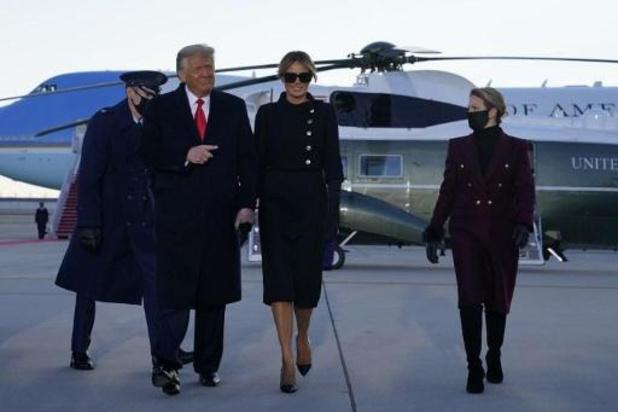 Trump onderweg naar Florida
