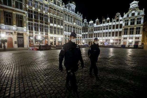 Waalse en Brusselse avondklok verlengd tot 13 december