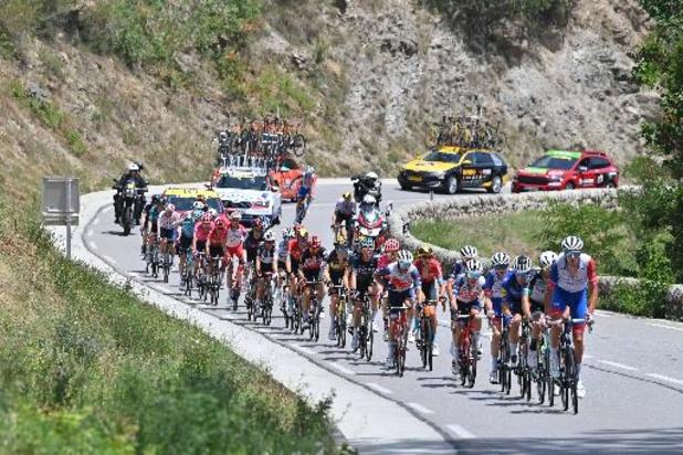 Après un jour de repos, le peloton a repris la route des Pyrénées lors de la 16e étape