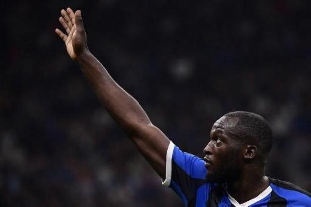 Romelu Lukaku (Inter) forfait pour le duel à Barcelone