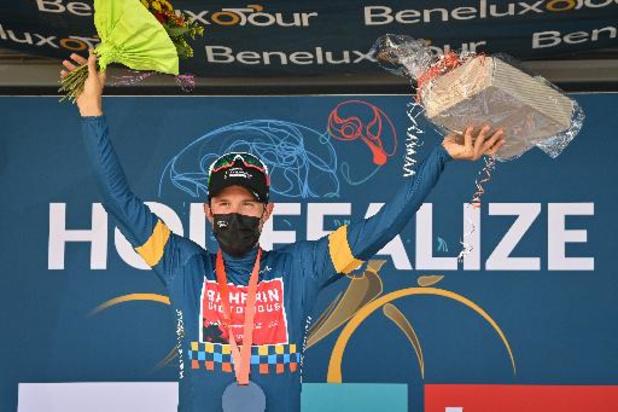 Bahrain-Victorious à la fête: Colbrelli vainqueur final du Tour du Benelux, la dernière étape pour Mohoric