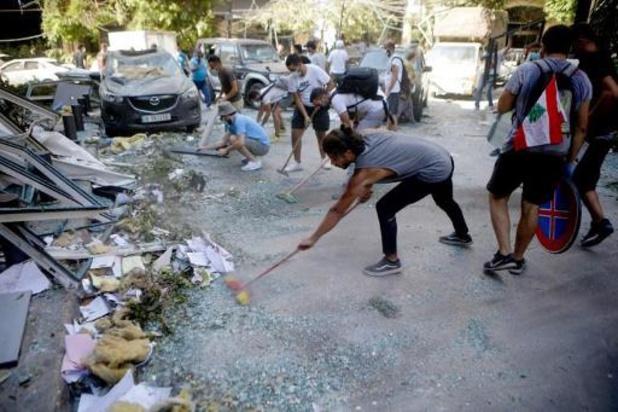Reddingsoperaties in Beiroet nog in volle gang na zware explosie