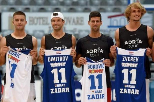 Novak Djokovic test positief