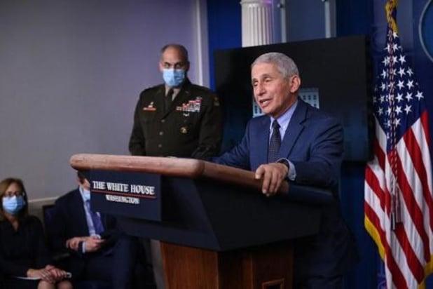 Présidentielle américaine 2020 - Fauci, de la cellule de crise sur le coronavirus, s'est entretenu avec l'équipe de Biden