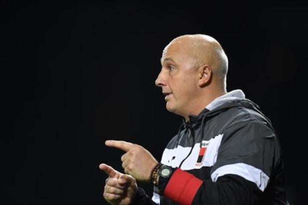 RWDM zet coach Laurent Demol aan de deur