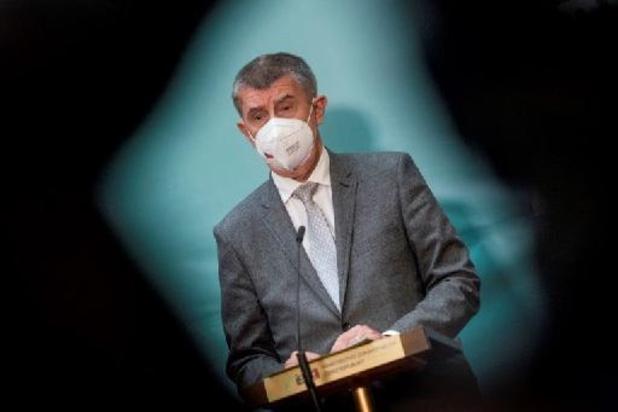 Politie raadt aan om aanklacht in te dienen tegen Tsjechische premier