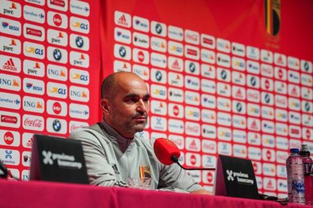 """Rode Duivels - Roberto Martinez is optimistisch over speelkansen Lukaku: """"Alles is onder controle"""""""