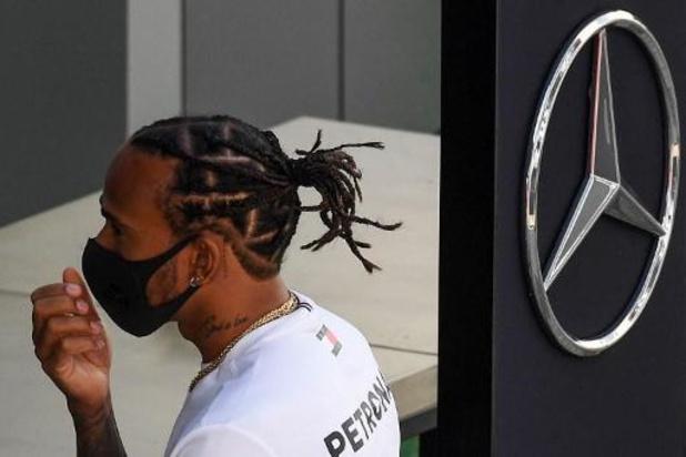 Un membre de l'écurie de F1 Mercedes testé positif