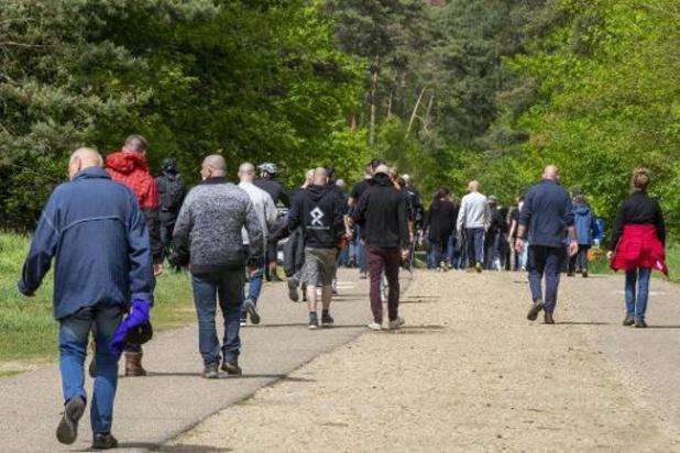 Ook tweede mars voor Conings rustig verlopen