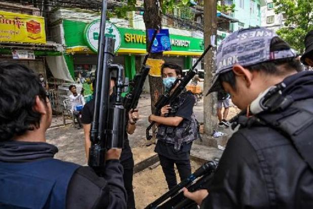 Meer dan veertig ngo's eisen dat geweld tegen burgers in Myanmar stopt