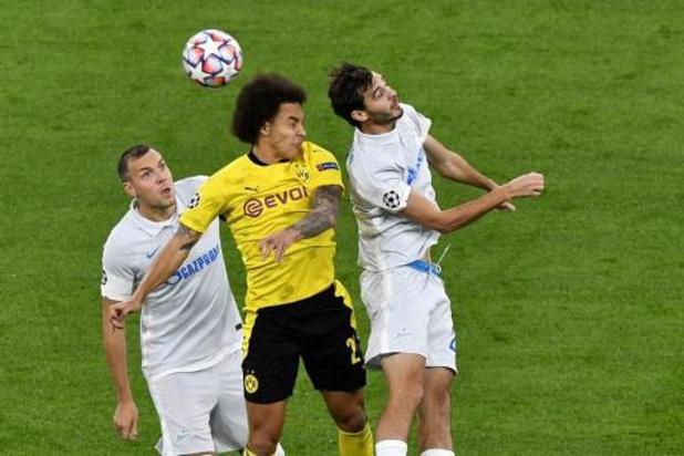 Les Belges à l'étranger - Dortmund avec ses trois Belges battent le Zénith, Rennes et Doku s'inclinent à Séville