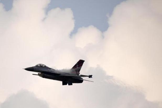 Kamercommissie Defensie spreekt zich uit voor inzet Belgische F-16's boven Irak en Syrië