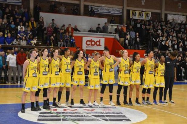 Euroleague basket (v) - Castors Braine gaat zwaar onderuit bij Bourges