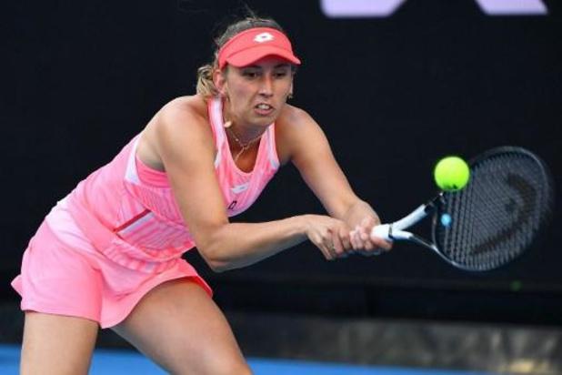 WTA Adelaide - Elise Mertens treft Sevastova of Garcia in tweede ronde