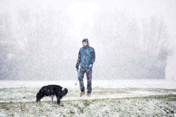 Zachtere temperaturen, weekend wordt opnieuw kouder met mogelijk sneeuw