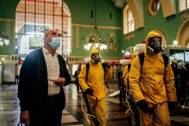 Le nombre de contaminations passe la barre des 400.000 en Russie