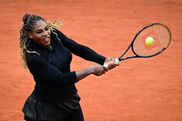 Serena Williams trekt zich terug voor tweede ronde