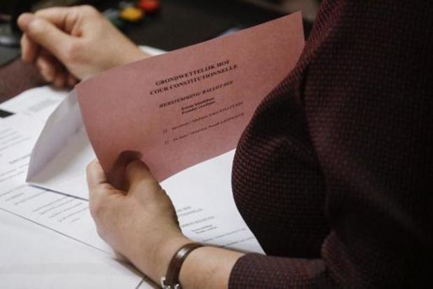 Gewezen Ecolo-covoorzitster tweede keer weggestemd bij voordracht Grondwettelijk Hof