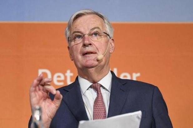 """Michel Barnier: """"Continuer de se préparer à l'éventuel échec des négociations sur l'après 2020"""""""