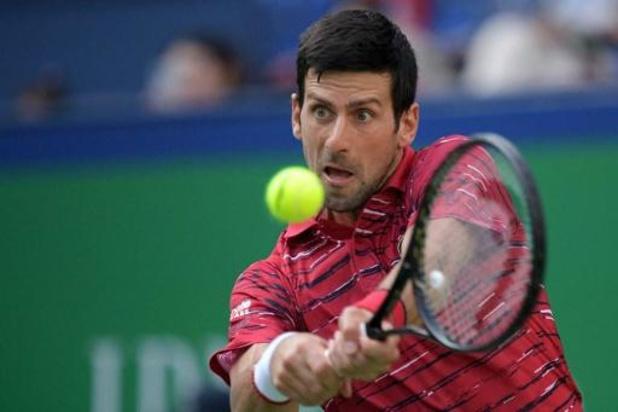 Novak Djokovic avance en quarts à Shanghai