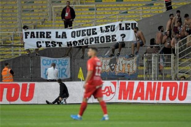 Les arbitres belges constatent une augmentation de l'homophobie dans le football