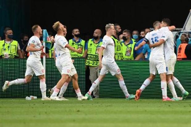Euro 2020 - La République tchèque surprend les Pays-Bas (0-2) et rejoint le Danemark en quart