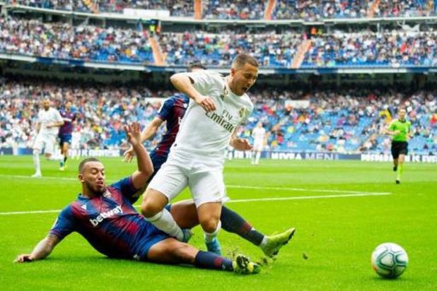 """Les Belges à l'étranger - Eden Hazard heureux de ses débuts avec le Real: """"Je voulais jouer ici depuis toujours"""""""