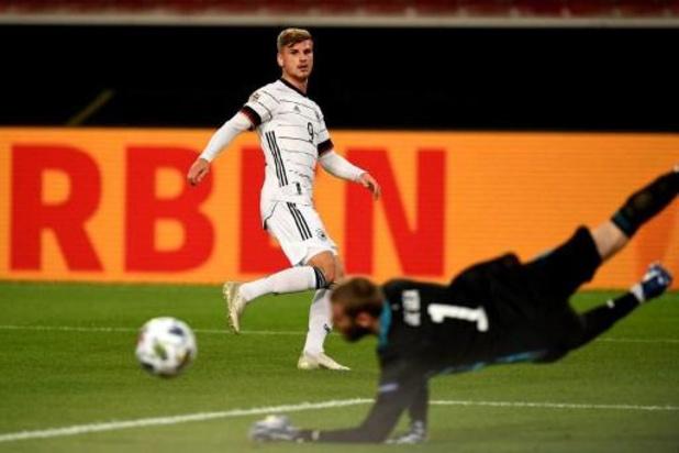 Nations League - Spanje raapt puntje in blessuretijd tegen Duitsland