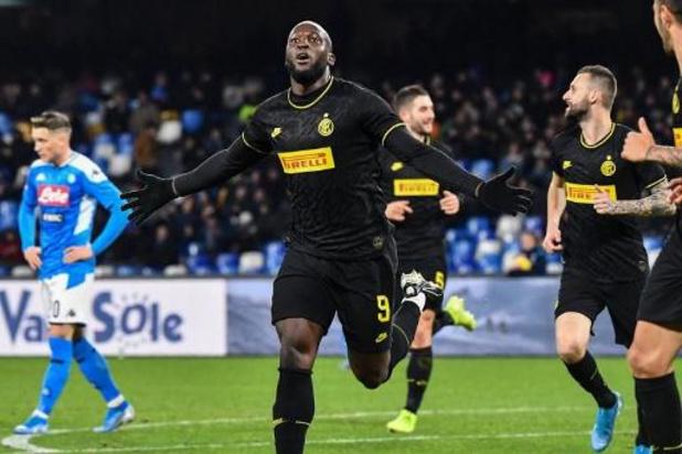 Ook Bekerduel Napoli-Inter wordt uitgesteld