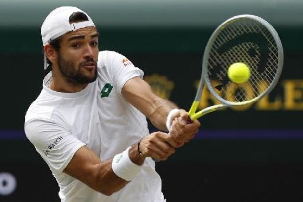 Djokovic en Berrettini spelen finale Wimbledon