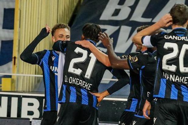 Jupiler Pro League - Club Brugge leider na zuinige zege tegen Sint-Truiden