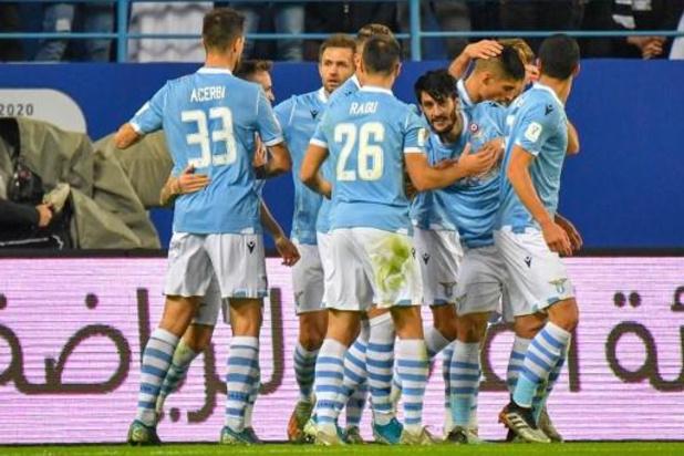 Les Belges à l'étranger - La Lazio de Rome remporte la 5e Supercoupe de son histoire face à la Juventus