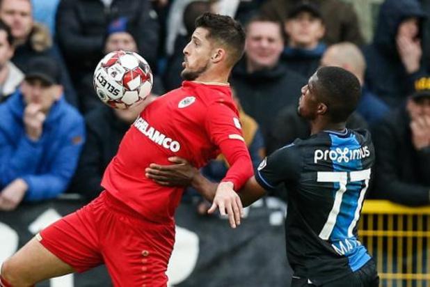 Bekerfinale Club Brugge - Antwerp op zondag 22 maart om 14u30