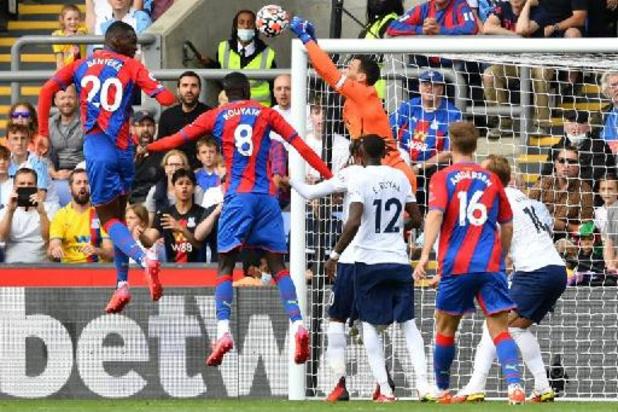 Crystal Palace et Christian Benteke infligent à Tottenham son premier revers de la saison
