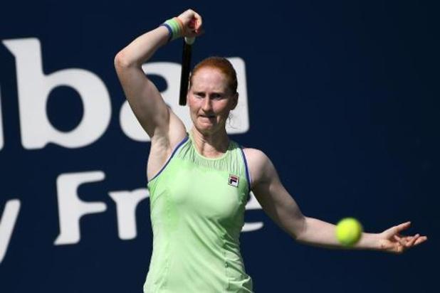 WTA Cincinnati - Alison Van Uytvanck éliminée dès le premier tour