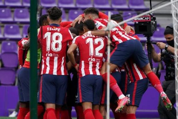 La LIga - L'Atletico Madrid champion d'Espagne pour la 11e fois