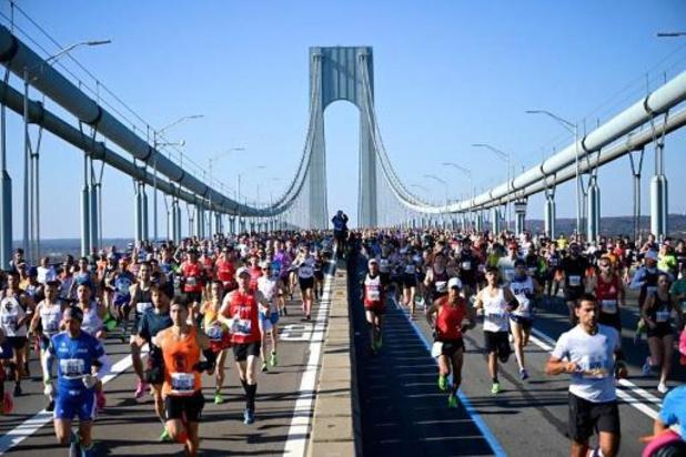 Marathon de New York - Victoires des Kényans Geoffrey Kamworor et Joyciline Jepkosgei