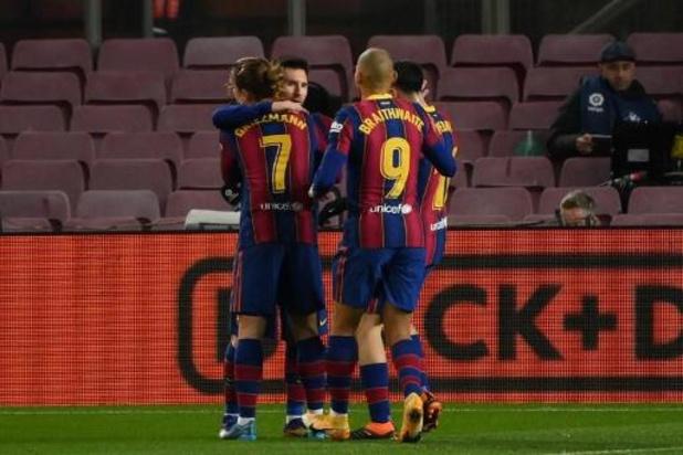 La Liga - Le FC Barcelone arrache un succès 1-0 contre Levante