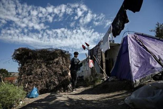 Zeventien migranten testen positief op Lesbos